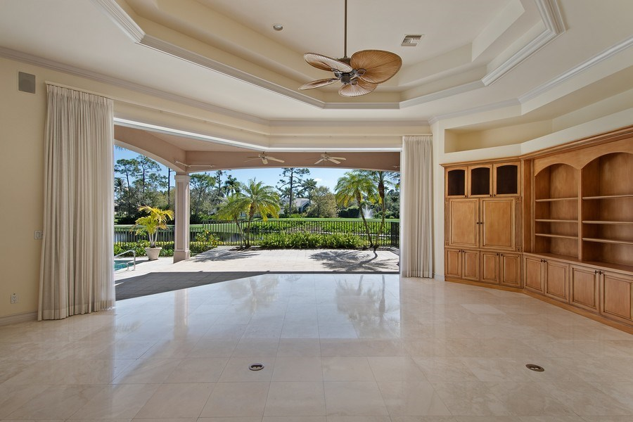 Real Estate Photography - 144 Cheshire Way, Naples, FL, 34110 - Family Room