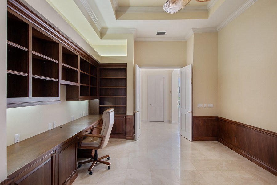Real Estate Photography - 144 Cheshire Way, Naples, FL, 34110 - Den