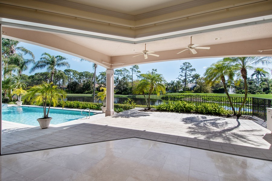 Real Estate Photography - 144 Cheshire Way, Naples, FL, 34110 - Patio