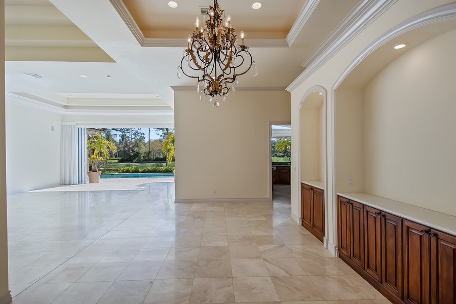 Real Estate Photography - 144 Cheshire Way, Naples, FL, 34110 - Living Room / Dining Room