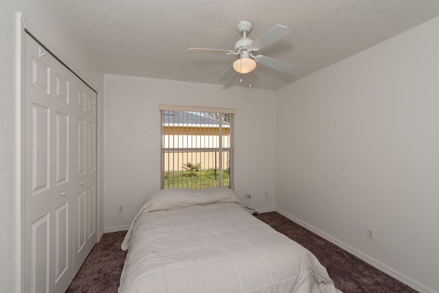 Real Estate Photography - 2456 Oak Mill Dr, Kissimmee, FL, 34744 - 2nd Bedroom