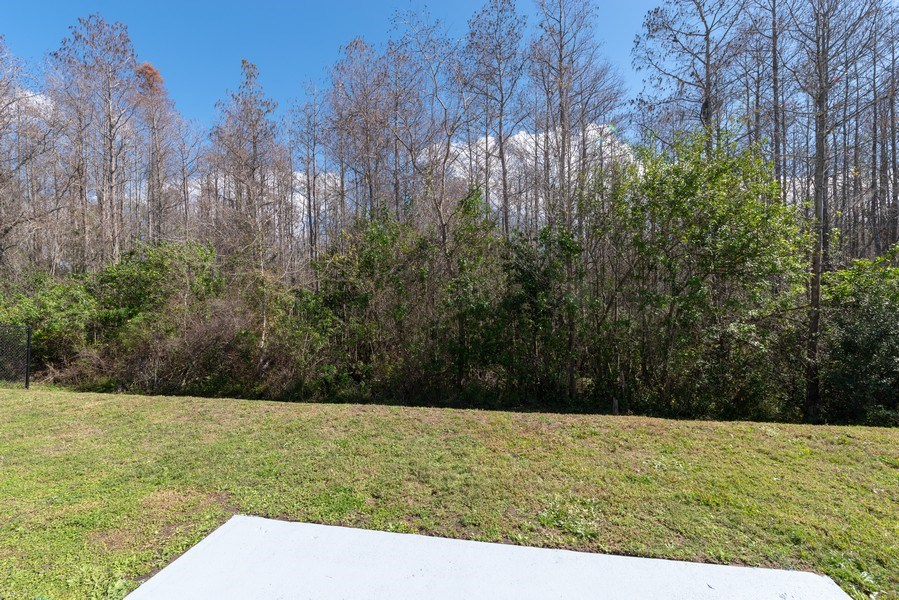 Real Estate Photography - 2456 Oak Mill Dr, Kissimmee, FL, 34744 - Back Yard