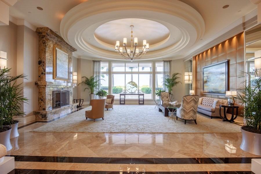 Real Estate Photography - 23850 Via Italia Cir, 502, Bonita Springs, FL, 34134 - Lobby