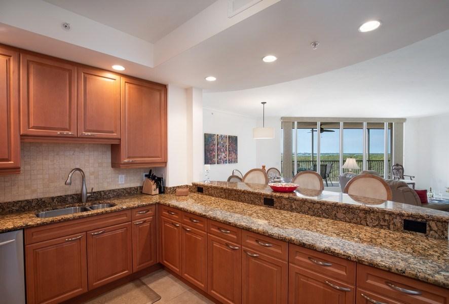 Real Estate Photography - 23850 Via Italia Cir, 502, Bonita Springs, FL, 34134 - Kitchen