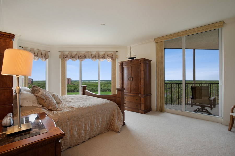 Real Estate Photography - 23850 Via Italia Cir, 502, Bonita Springs, FL, 34134 - Master Bedroom
