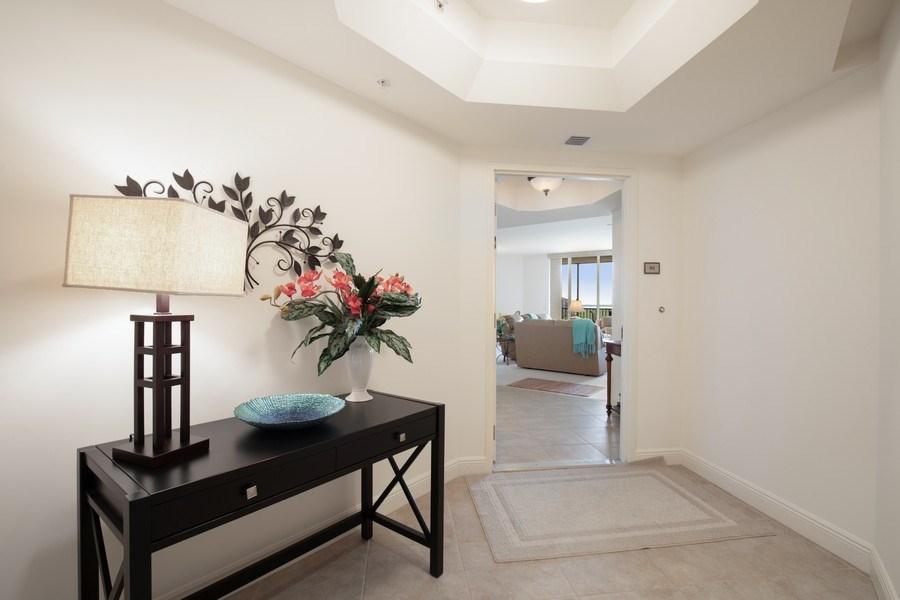 Real Estate Photography - 23850 Via Italia Cir, 502, Bonita Springs, FL, 34134 - Foyer
