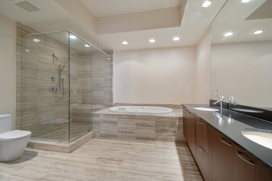 Real Estate Photography - 16001 Collins Ave., 2707, Sunny Isles Beach, FL, 33160 - Master Bathroom