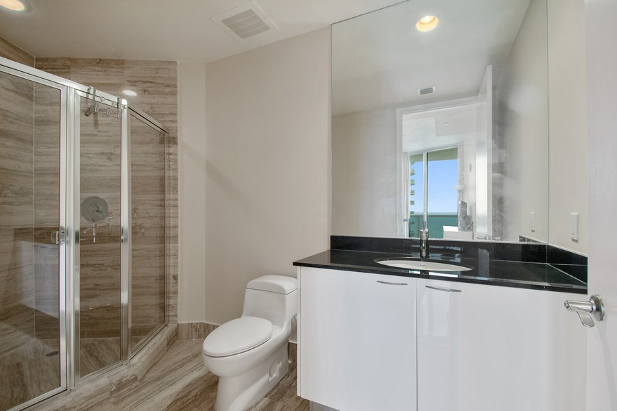 Real Estate Photography - 16001 Collins Ave., 2707, Sunny Isles Beach, FL, 33160 - Bathroom