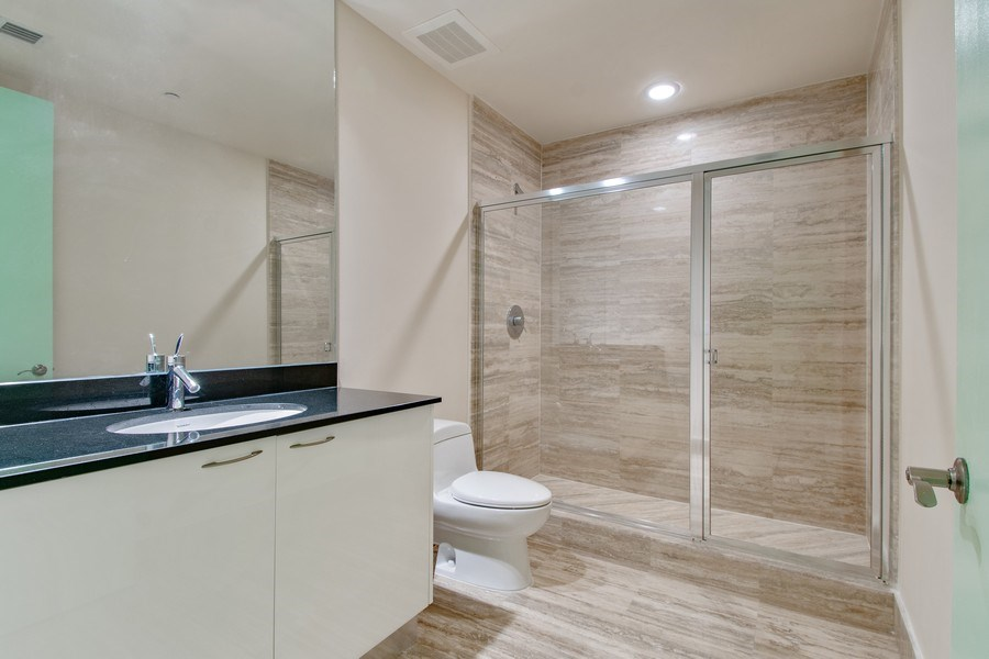 Real Estate Photography - 16001 Collins Ave., 2707, Sunny Isles Beach, FL, 33160 - 2nd Bathroom