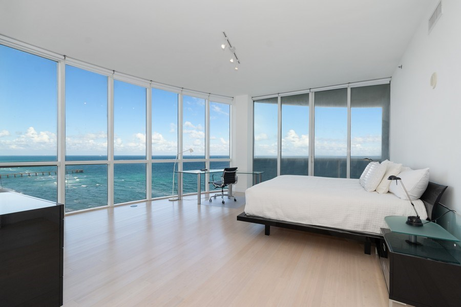 Real Estate Photography - 16001 Collins Ave., 1401, Sunny Isles Beach, FL, 33160 - Master Bedroom