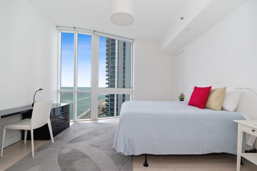 Real Estate Photography - 16001 Collins Ave., 1401, Sunny Isles Beach, FL, 33160 - 2nd Bedroom