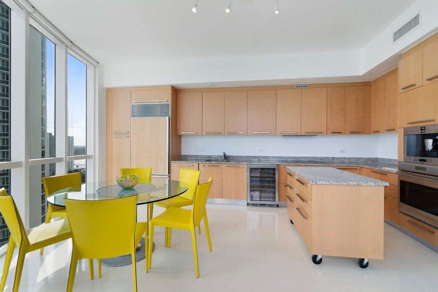 Real Estate Photography - 16001 Collins Ave., 1401, Sunny Isles Beach, FL, 33160 - Kitchen