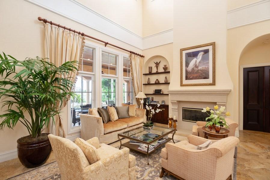 Real Estate Photography - 203 SE Bella Strano, Port St. Lucie, FL, 34984 - Living Room