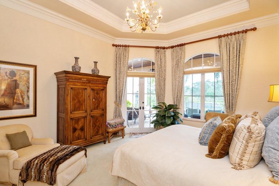 Real Estate Photography - 203 SE Bella Strano, Port St. Lucie, FL, 34984 - Master Bedroom