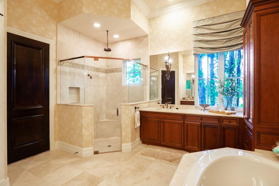Real Estate Photography - 203 SE Bella Strano, Port St. Lucie, FL, 34984 - Master Bathroom