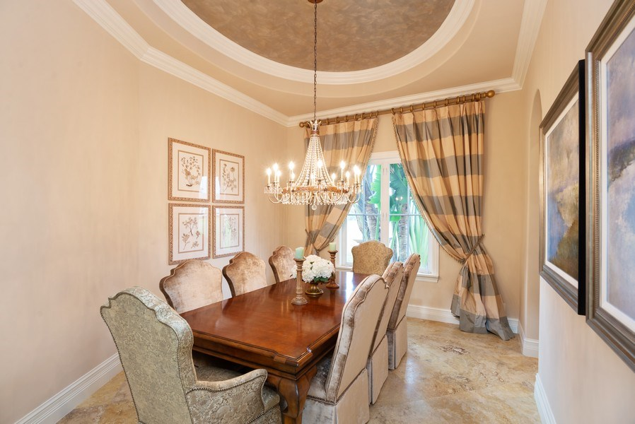 Real Estate Photography - 203 SE Bella Strano, Port St. Lucie, FL, 34984 - Dining Room
