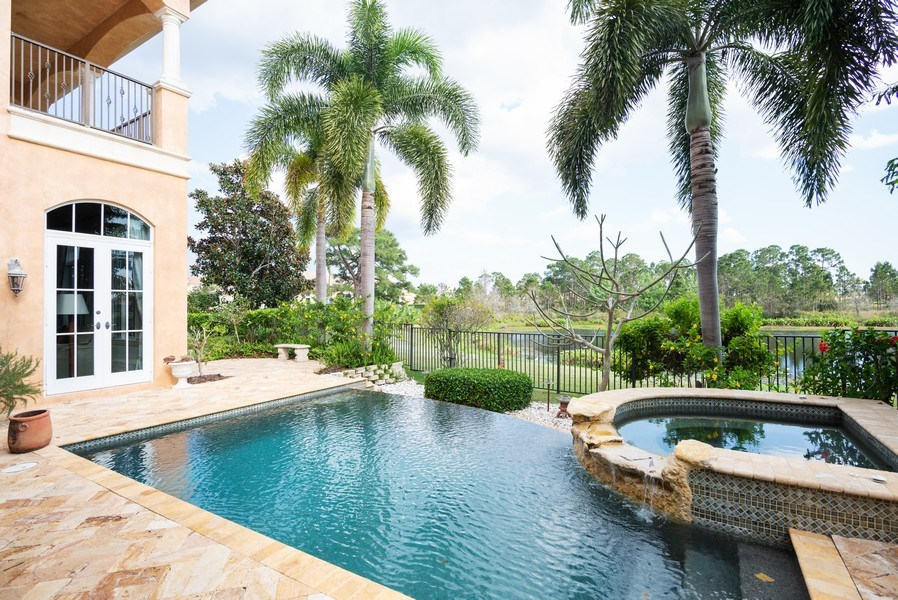 Real Estate Photography - 203 SE Bella Strano, Port St. Lucie, FL, 34984 - Pool