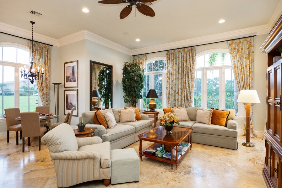 Real Estate Photography - 203 SE Bella Strano, Port St. Lucie, FL, 34984 - Family Room