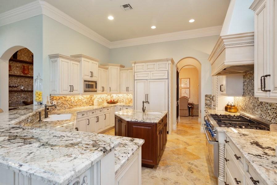 Real Estate Photography - 203 SE Bella Strano, Port St. Lucie, FL, 34984 - Kitchen