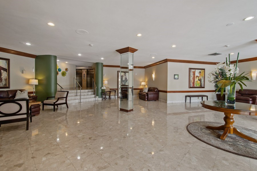Real Estate Photography - 100 Golden Isles Drive #310, Hallandale Beach, FL, 33009 - Lobby
