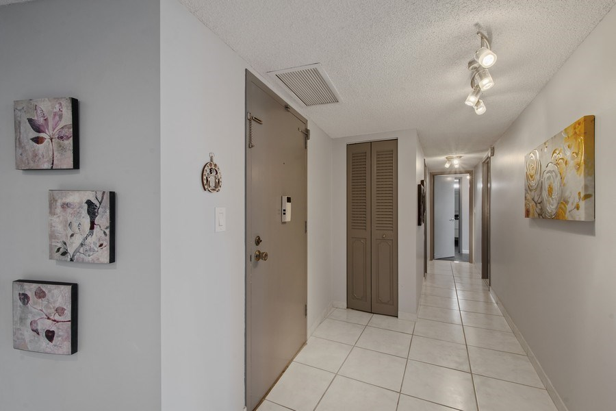 Real Estate Photography - 100 Golden Isles Drive #310, Hallandale Beach, FL, 33009 - Foyer