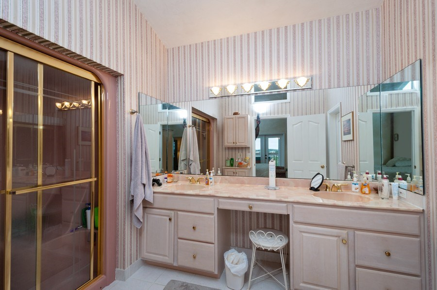 Real Estate Photography - 16351 Whiddon Avenue, Cedar Key, FL, 32625 - Master Bathroom