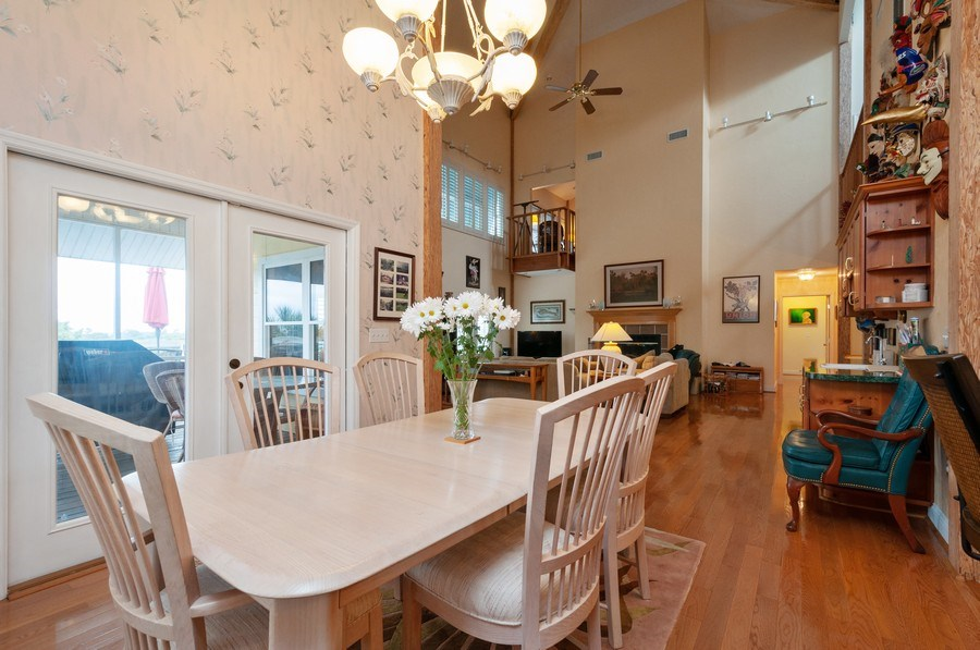 Real Estate Photography - 16351 Whiddon Avenue, Cedar Key, FL, 32625 - Dining Area 2