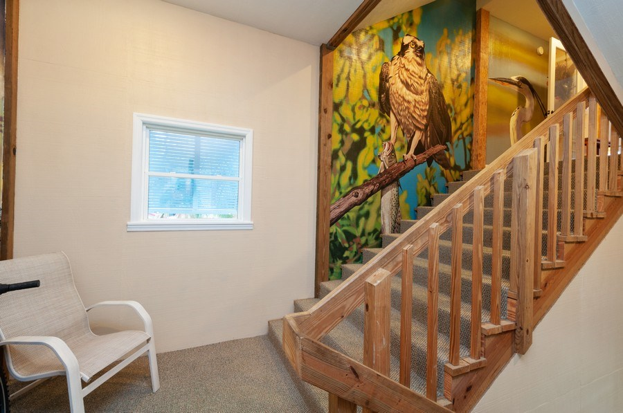 Real Estate Photography - 16351 Whiddon Avenue, Cedar Key, FL, 32625 - Staircase