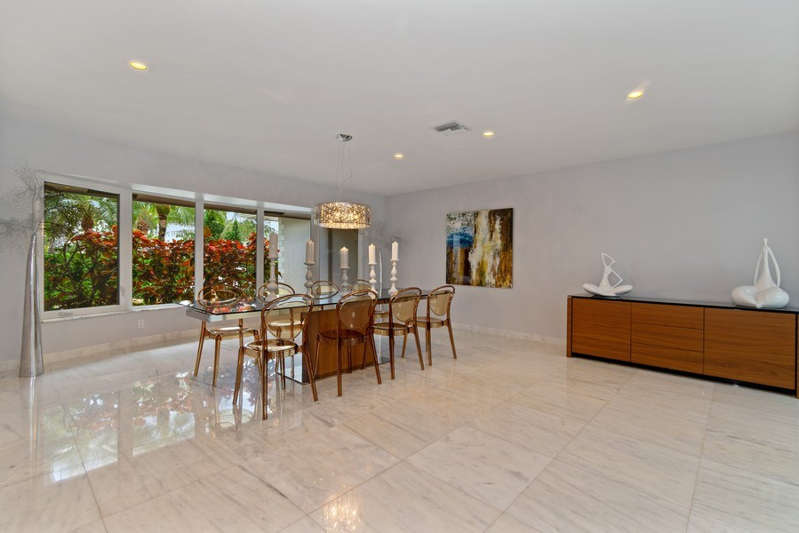 Real Estate Photography - 2659 NE 35th Drive, Fort Lauderdale, FL, 33308 - Dining Room