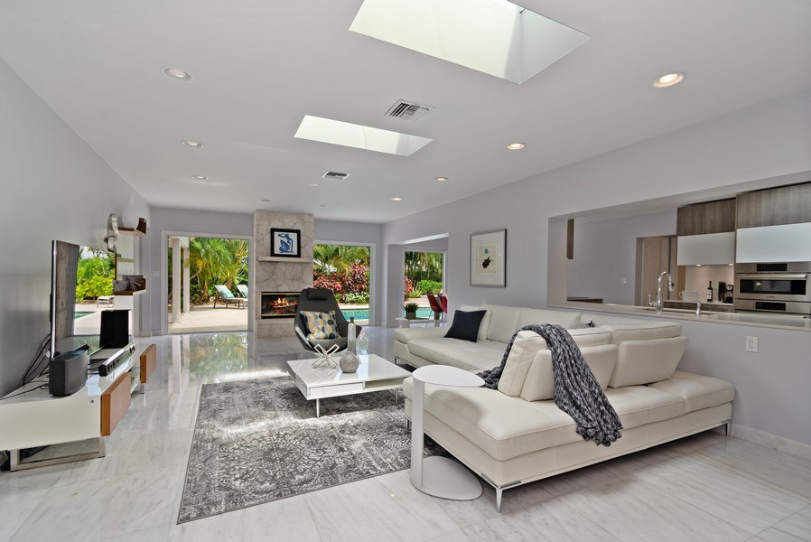 Real Estate Photography - 2659 NE 35th Drive, Fort Lauderdale, FL, 33308 - Family Room