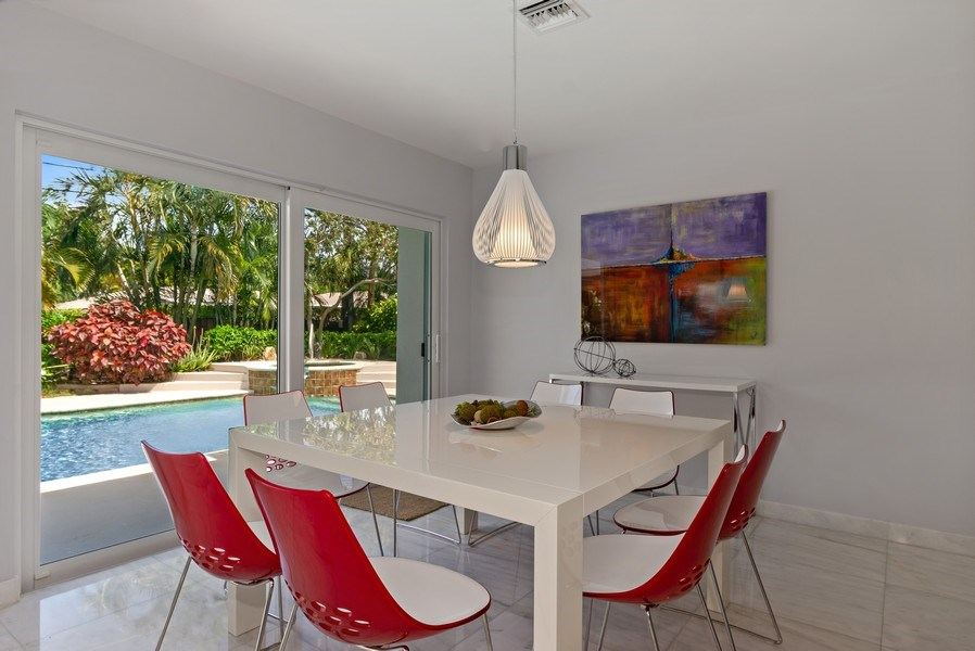 Real Estate Photography - 2659 NE 35th Drive, Fort Lauderdale, FL, 33308 - Breakfast Room