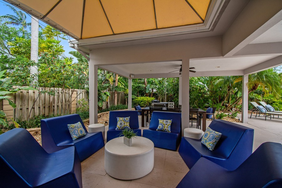 Real Estate Photography - 2659 NE 35th Drive, Fort Lauderdale, FL, 33308 - Patio