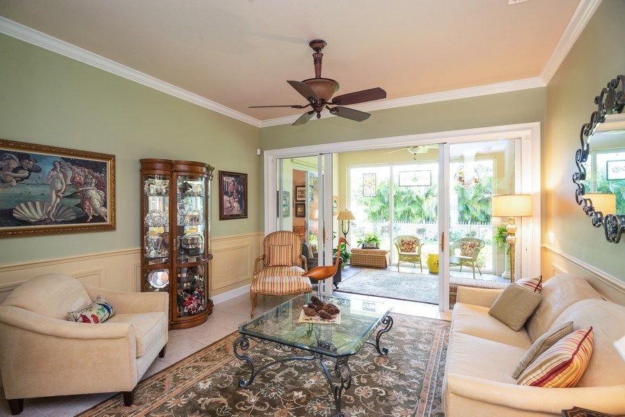 Real Estate Photography - 440 40th Sq SW, Vero Beach, FL, 32968 - Living Room