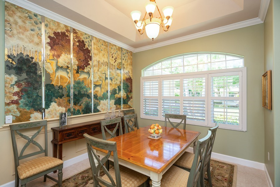 Real Estate Photography - 440 40th Sq SW, Vero Beach, FL, 32968 - Dining Room