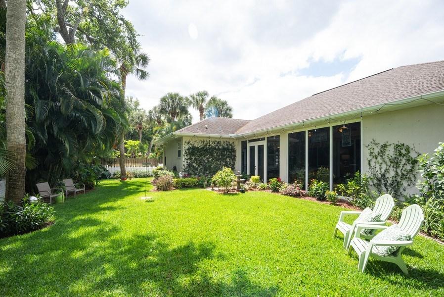 Real Estate Photography - 440 40th Sq SW, Vero Beach, FL, 32968 - Back Yard