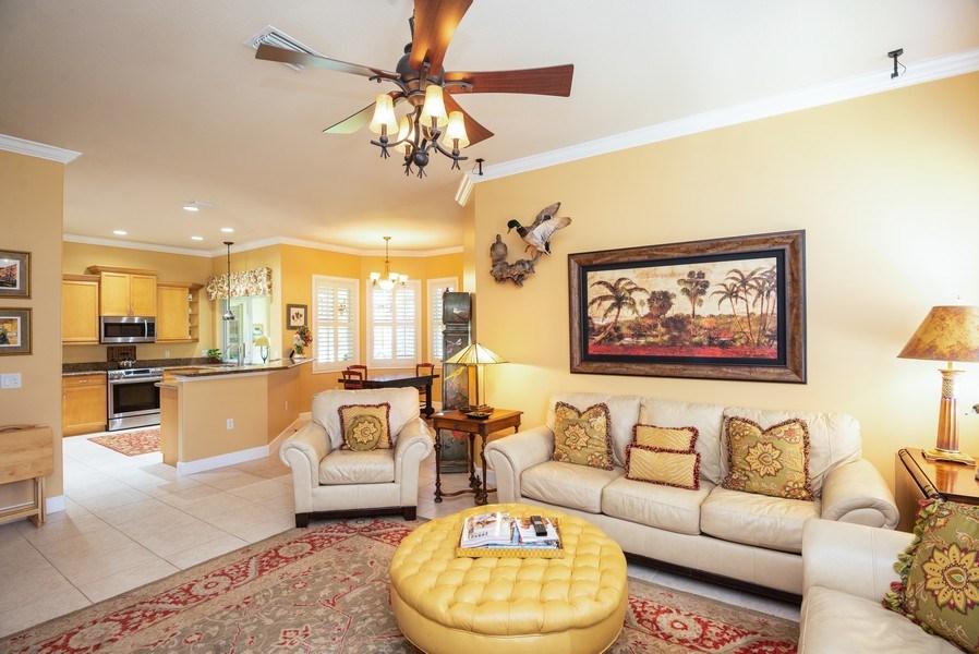 Real Estate Photography - 440 40th Sq SW, Vero Beach, FL, 32968 - Family Room