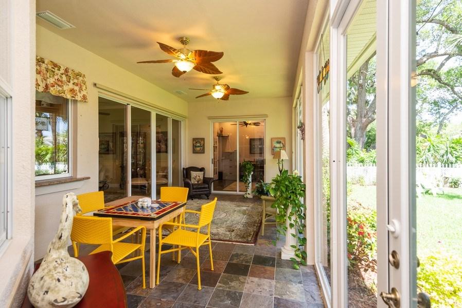 Real Estate Photography - 440 40th Sq SW, Vero Beach, FL, 32968 - Patio