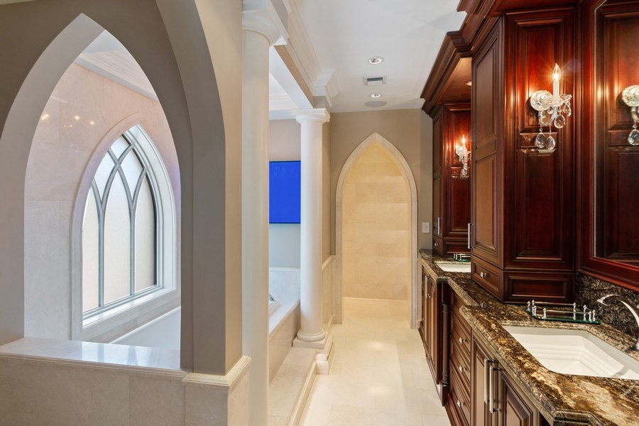 Real Estate Photography - 22472 Tiki Drive, Boca Raton, FL, 33428 - Master Bathroom