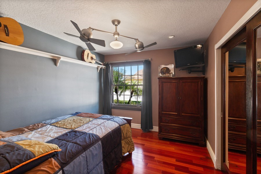 Real Estate Photography - 22472 Tiki Drive, Boca Raton, FL, 33428 - Bedroom