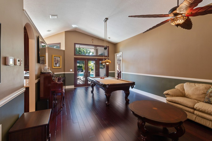 Real Estate Photography - 22472 Tiki Drive, Boca Raton, FL, 33428 - Dining Room