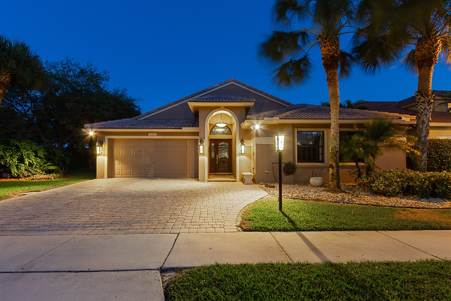Real Estate Photography - 22472 Tiki Drive, Boca Raton, FL, 33428 - Front View