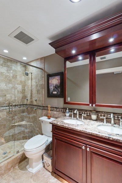 Real Estate Photography - 22472 Tiki Drive, Boca Raton, FL, 33428 - Bathroom