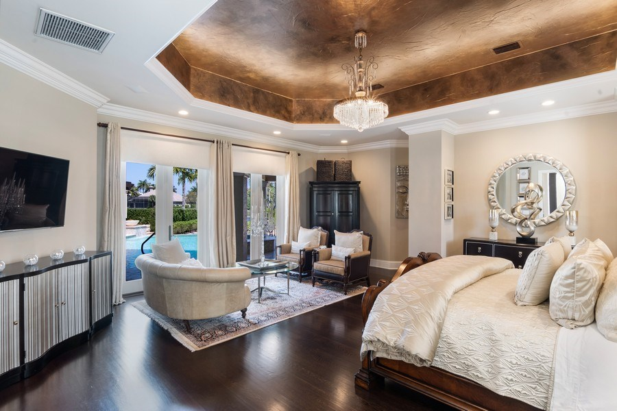 Real Estate Photography - 8732 Purslane Drive, Naples, FL, 34109 - Master Bedroom