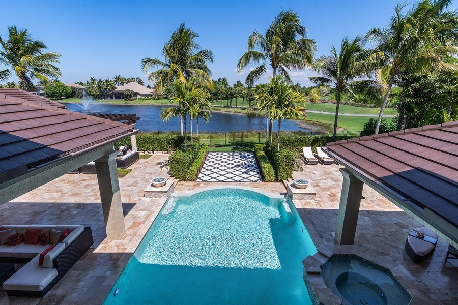 Real Estate Photography - 8732 Purslane Drive, Naples, FL, 34109 - View
