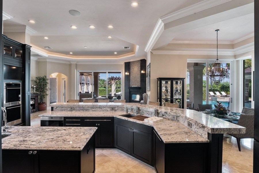 Real Estate Photography - 8732 Purslane Drive, Naples, FL, 34109 - Kitchen