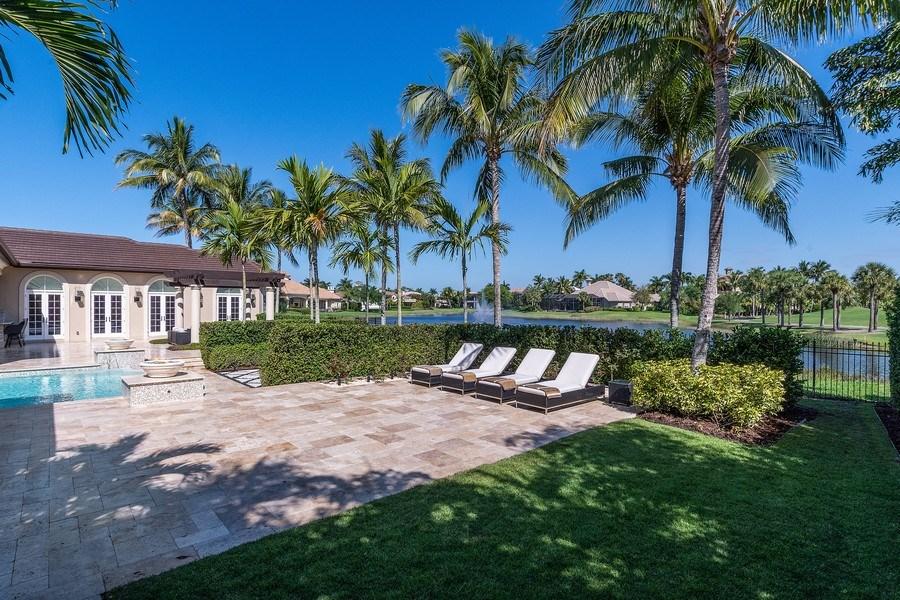 Real Estate Photography - 8732 Purslane Drive, Naples, FL, 34109 - Pool