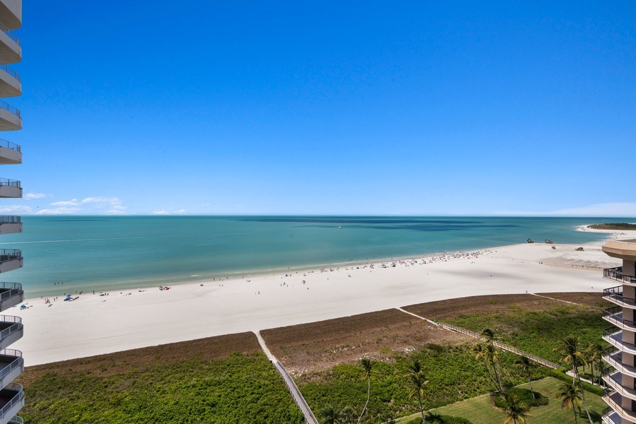 Real Estate Photography - 280 S. Collier Blvd., Summit House #1805, Marco Island, FL, 34145 - View