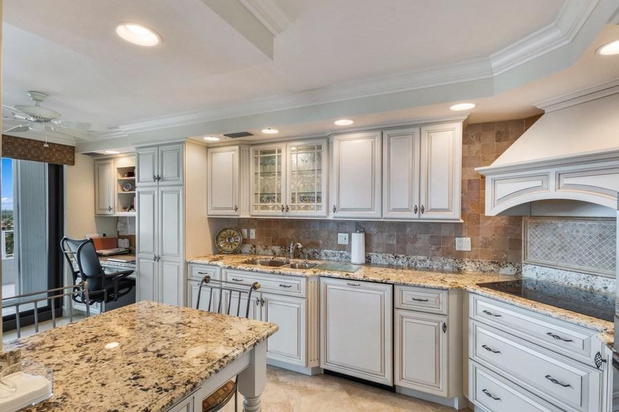 Real Estate Photography - 280 S. Collier Blvd., Summit House #1805, Marco Island, FL, 34145 - Kitchen