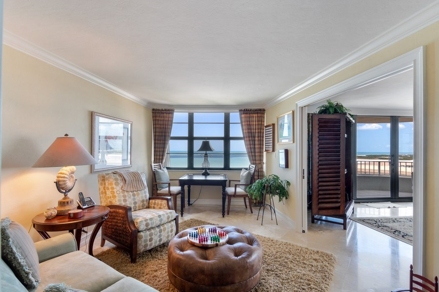 Real Estate Photography - 280 S. Collier Blvd., Summit House #1805, Marco Island, FL, 34145 - Den