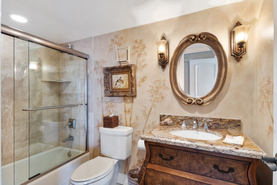 Real Estate Photography - 280 S. Collier Blvd., Summit House #1805, Marco Island, FL, 34145 - Bathroom